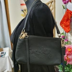 COACH Bag | Black | Mini Crossbody Bag | Clutch Handbag | Pre-owed
